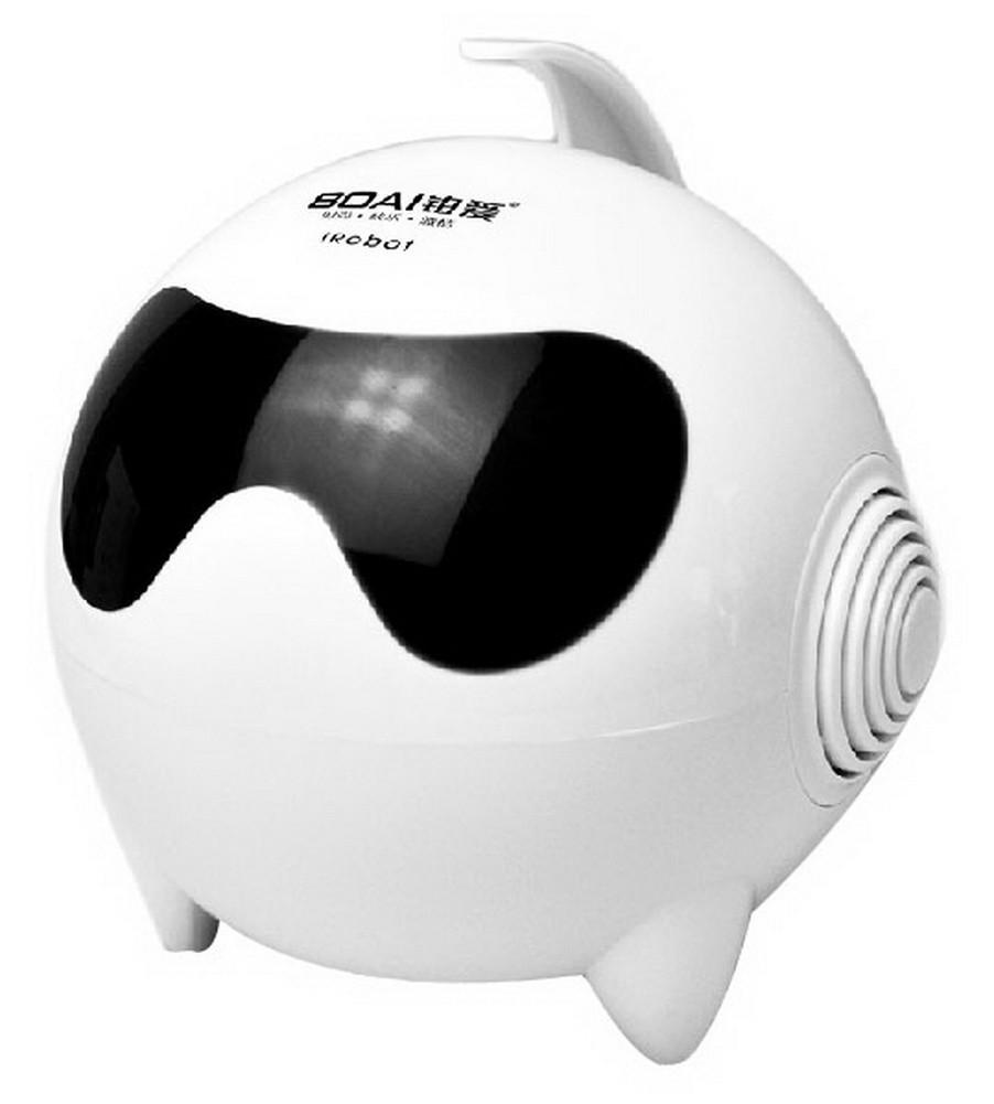 Lovely Fashion Shine Computer Speakers Double Loudspeaker WHITE