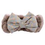 Bowknot Bath Wash Cosmetic Headband