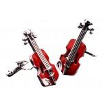 A Pair of Creative Violin Cuff-links for Men Fashion Luxurious Tuxedo Shirts Cuff-links