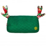 High-quality (Lovely Elk) Car Headrest/Car Neck Pillow ,China-green