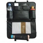 High-quality Car Seat Back Organizer Leatherware Storage Bag,BLACK B