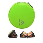 Colorful DVD Storage 32 Capacity CD / DVD Wallets Refinement CD Storage Green