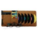 Auto Accessories 10-Pocket CD Visor Organizer DVD/CD Storage Brown