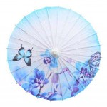 Chinese Style Oiled Paper Umbrella Handmade Office Gifts 33-Inch Non Rainproof