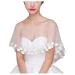 Fashion Style Women's Wedding Dresses Lace Bridal Shawls P