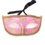 Masquerade Costume Children Toy Kids Mask Handmade Halloween Mask (16.5x8 cm)