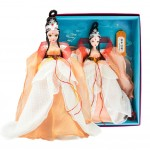 China Doll in Ancient Costume Doll for Girls Gift, The Crowned Crane