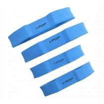 Car Door Protector Trim Guard Sticker Crash Bar Anti-rub Foam Strips 4PCS (Blue)