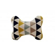 Comfortable Car Pillow Geometric Bamboo Charcoal Pillow