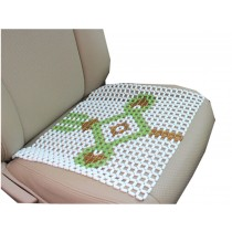 Summer Cool Class Beads Car Seat Cushion Chair Square Seat Mat (43*43CM)