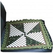 45*45CM Hand-woven Antiskid Square Chair Cover Mat Car Seat Cushion Pad