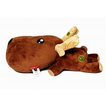 Car Decors Cool Deer Plush Dolls Bamboo Charcoal Auto Charms, Brown
