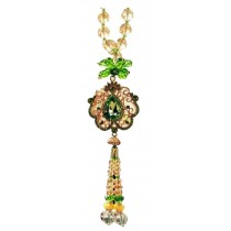 Crystal Car Pendant Car Is Hanged Adorn Fashionable Pendant Green