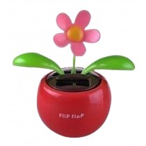 Auto - Accessories Creative Car Supplies Rocking Sunflower Apple Red