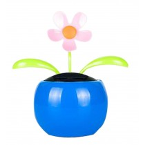 Auto - Accessories Creative Car Supplies Rocking Sunflower Apple Blue