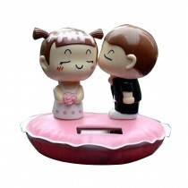 Auto - Accessories Creative Car Supplies Lovely Doll Apple Pink