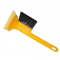 Yellow Windshield Ice Scraper Car Snow Brush & Ice Scraper for Car Two in One