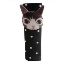 2 PCS Cute Car Seat Belt Shoulder Pads Seat Belt Pads Dot Cat