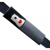 1 Pair Car Seat Belt Pads Shoulder Pads Seat Belt Covers Bear