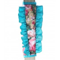 1 Pair Elegant Car Seat Belt Shoulder Pads Seat Belt Pads Blue