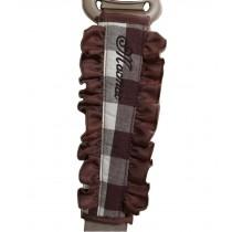 [Plaid Coffee] 1 Pair Car Seat Belt Shoulder Pads Seat Belt Pads