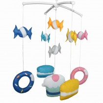 Baby's Friend Creative Crib Mobile Crib Decorations Cute Musical Mobile