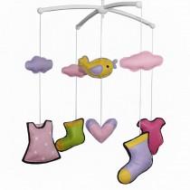 [Beautiful Life] Creative Crib Mobile Baby Crib Musical Mobile