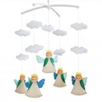 [Happy Angel] Creative Crib Mobile Handmade Baby Crib Musical Mobile