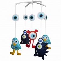 Lovely Infant Music Mobile Handmade Baby Crib Mobile [Wonderful World]