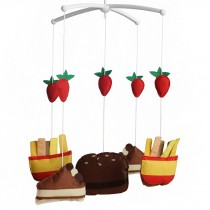 [Cake and French-fries] Handmade Infant Musical Crib Mobile