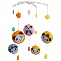 [Panda] Crib Mobile Crib Hanging Bell Infant Musical Toy