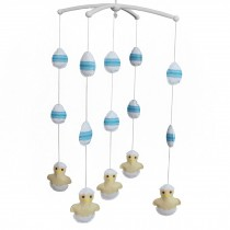 [Newborn] Hanging Bell Mobile Baby Bed Musical Crib Mobile