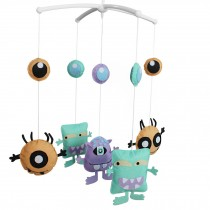 Creative Hanging Bell Mobile Handmade Baby Bed Musical Crib Mobile