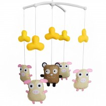 Creative Musical Crib Mobile for Baby Customised Hanging Bell Mobile