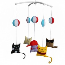Creative Infant Musical Mobile Hanging Bell Mobile for Baby