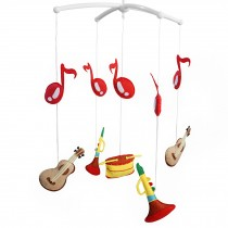 [Musical Instruments] Lovely Rotate Bed Toy Baby Crib Bell Mobile