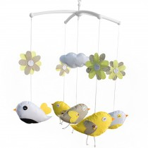 Handmade Crib Mobile Nursery Mobile for Baby Room Rotate Bed Bell