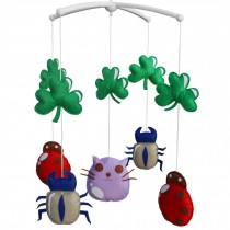 Rotatable Musical Mobile for Baby Crib / Stroller, [Cute Insect]