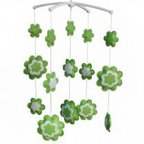 Pretty Crib Decor Mobile [Green Life] Baby Musical Mobile