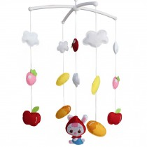 Exquisite Gift for Baby Girls [Crib Decoration] Decorative Crib Mobile