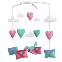 Hanging Pigeon Toy Baby Crib Mobile [Colorful Envelope]