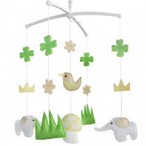 Pretty Toys [Jungle] Creative Musical Baby Mobile Adorable Gift