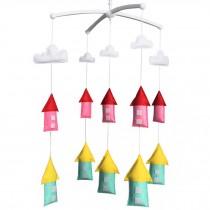 Handmade Unisex Baby Crib Mobile [Farmhouse] Decor Crib Mobile