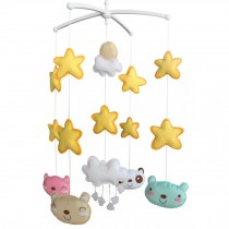 Creative Hanging Toys [Happiness] Unisex Baby Musical Crib Mobile Gift