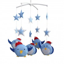 Crib Musical Mobile, [Happy Traveling] Cute Hanging Toys, Handmade