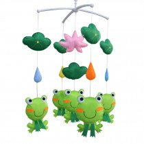 [Lotus and Frog] Pretty Decor Handmade Toy, Musical Mobile