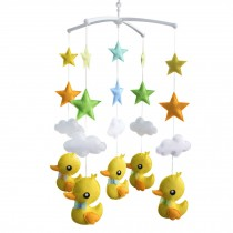 Crib Mobile, Baby Creative Gift [Cute Duck and Colorful Star]