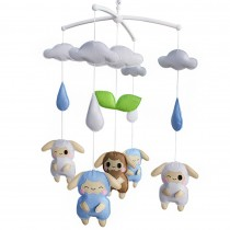 Cute Gift, Infants' Musical Mobile, Animal Friends Series, [Cartoon Lambs]