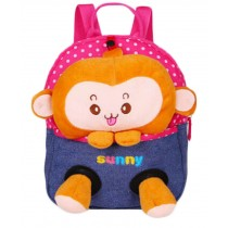Cartoon Childrens Backpack For School Toddle Backpack Baby Bag, Monkey