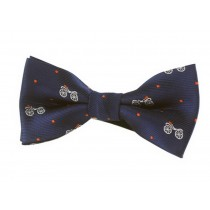 Fashion Designed Adjustable Neck Bowtie Boys Bow Tie [Dark Blue]